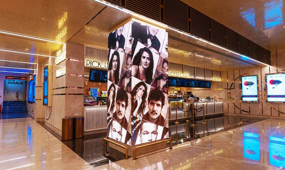 LED display for PVR cinemas