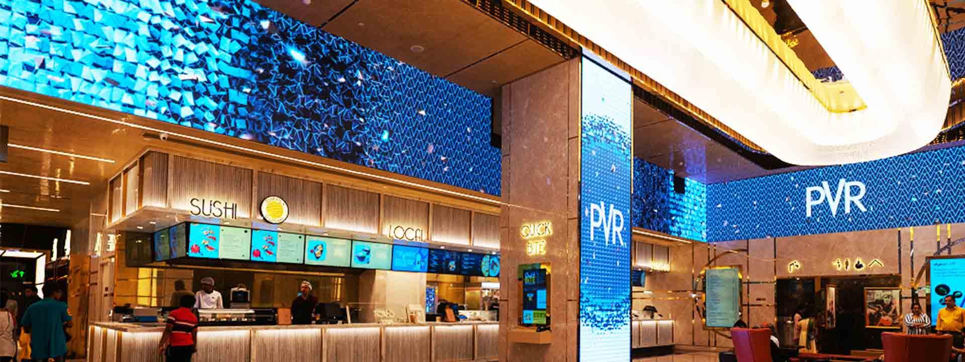 LED Installation at PVR