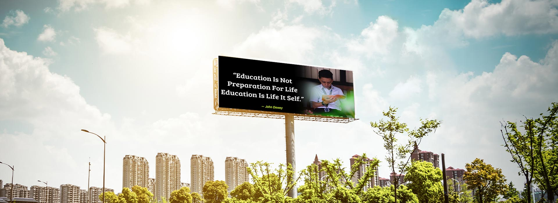 LED display for education