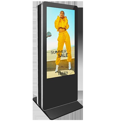 Dual sided kiosk
