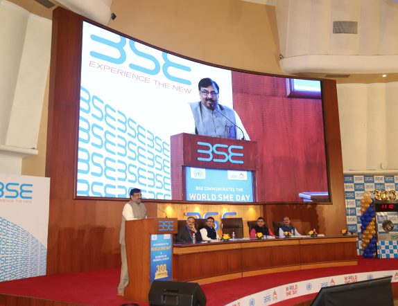 4k Active LED Screen for Convention Hall at BSE Mumbai