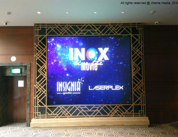 Active Led Installation in the Lobby for Inox Nariman point