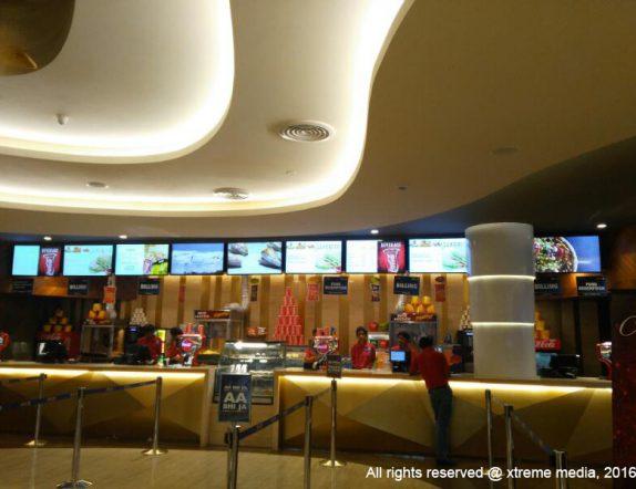 Digital Menuboard for Cafeteria at Inox theatres acorss India