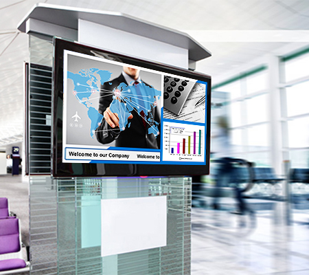 Digital Signage solution at Syntel for Corporate communication and Live Townhalls