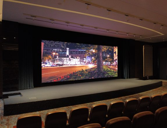 High Resolution LED Videowall for Auditourium at Prestige HO Falcon Tower