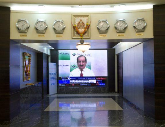 LED Display for Lobby at BSE Mumbai