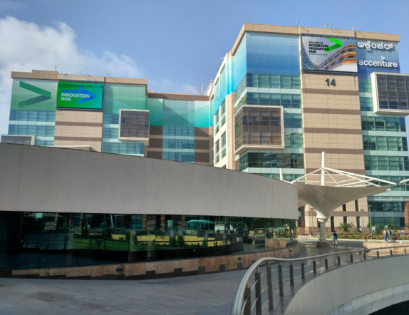 Outdoor LED Screen for Accenture Bengaluru 2