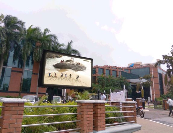Outdoor LED Video Wall for Manipal University 1