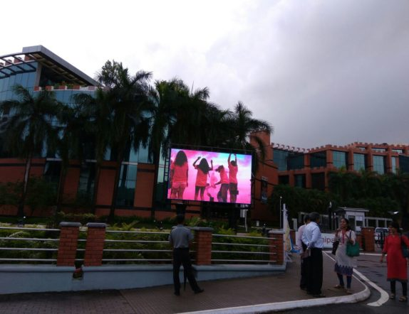 Outdoor LED Video Wall for Manipal University 2