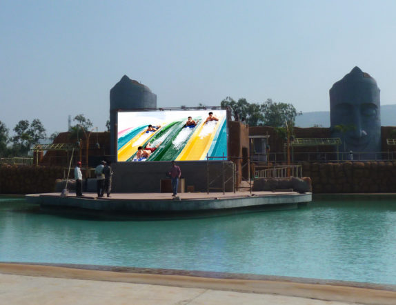 Outdoor LED Video wall for Malpani Group