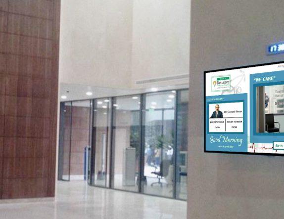 Queue Management Software at Reliance HNH Hospital