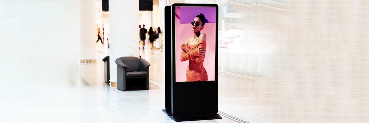 Interactive Digital Signage Technology